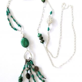 Spirit in Turquoise Necklace